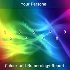 Colour Numerology Reading
