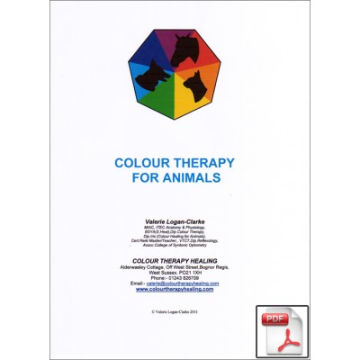 Colour Therapy For Animals Booklet  - PDF Download