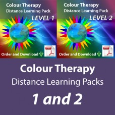 Colour Therapy Distance Learning Pack - Level 1 and 2 Download - PDF