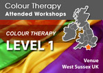 Colour Therapy Workshops Level 1